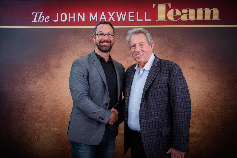 Josh with John Maxwell